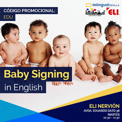 Baby Signing in English