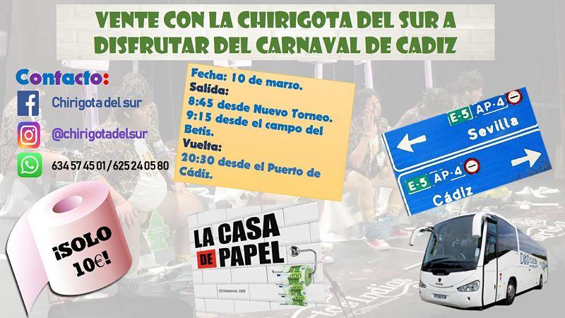 Viaje para los Carnavales de Cádiz 190310