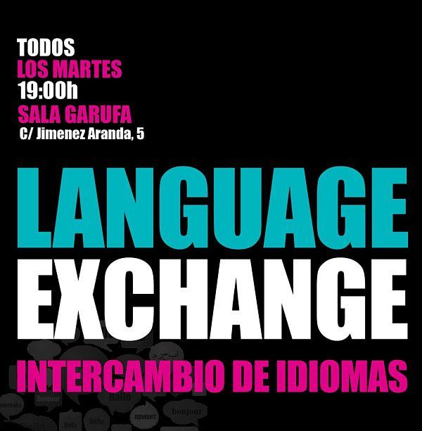 Intercambio de Idiomas con Paco Gutiérrez Martes 3 Abril 2018