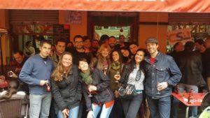 Couchsurfing Viernes - Bar Santana