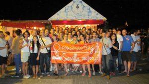 Couchsurfing en la Velá de Triana