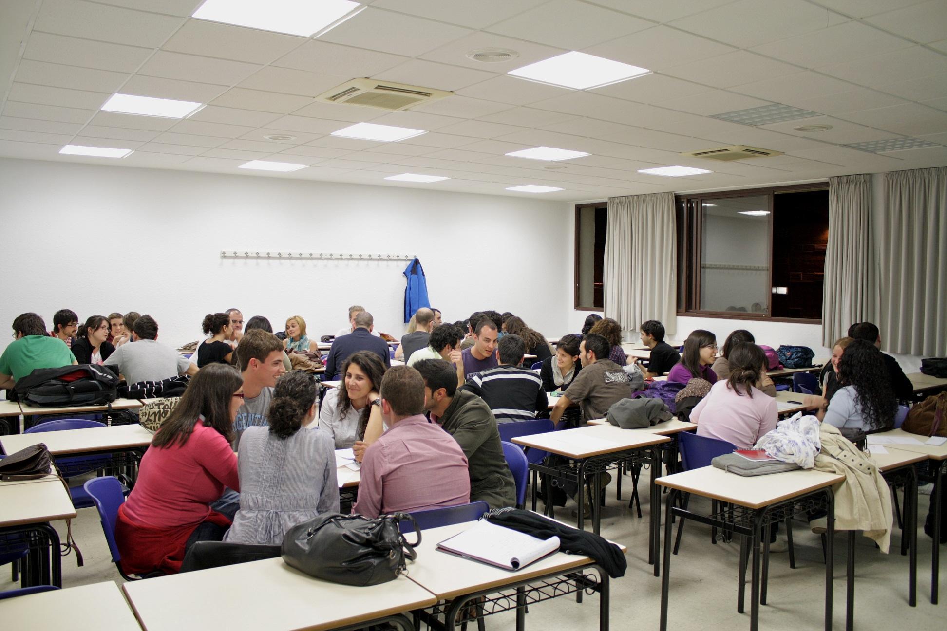 Encuentro en la Universidad
