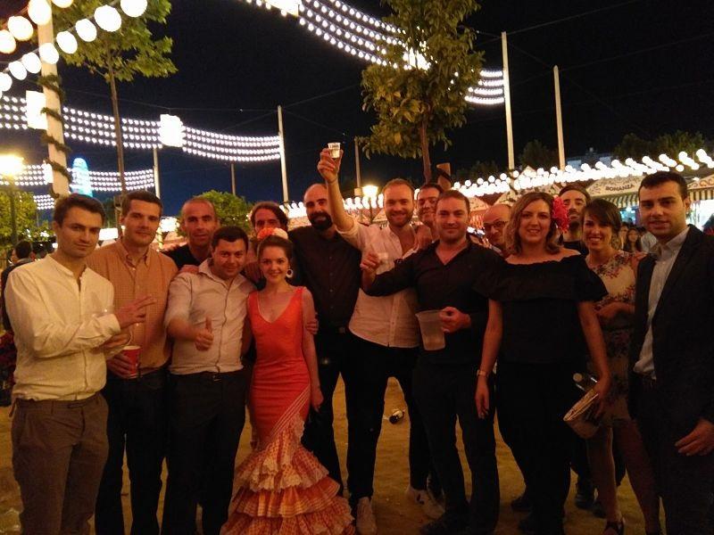 Feria de Sevilla 2017 Grupo de Intercambio de Idiomas