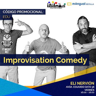 Taller Comedia de Improvisación en Inglés
