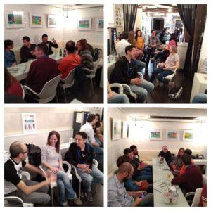 Intercambio de Idiomas Calle San Fernando White Bar Viernes