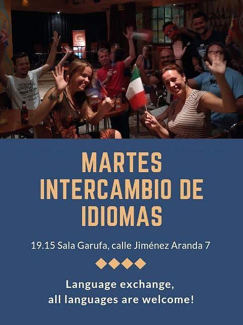 Intercambio de Idiomas Sevilla Nervión Bar Garufa Calle Jiménez Aranda