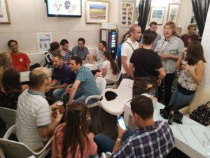 Intercambio de Idiomas Viernes en Calle San Fernando White Bar