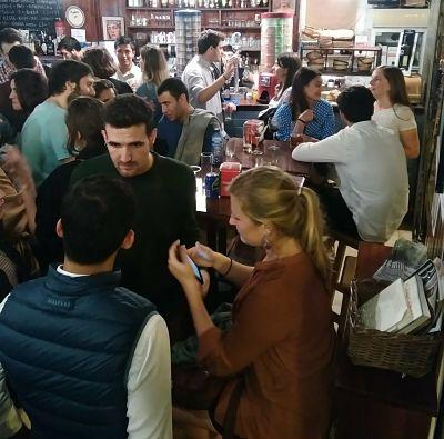 Intercambio de Idiomas en Plaza de la Encarnación