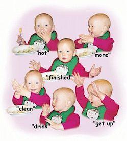 Lengua de Señas para Bebés en Inglés