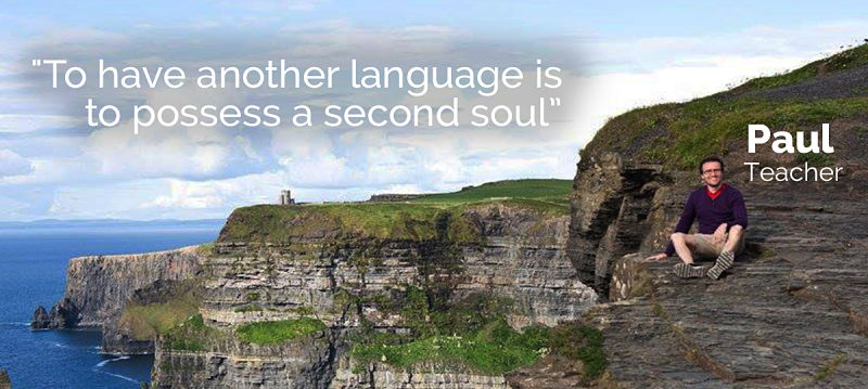 Paul Singleton - To have another language is to possess a second soul