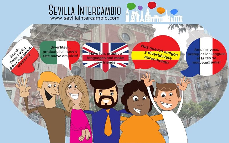 Sevilla Intercambio - Haz nuevos amigos y diviértete aprendiendo en La Alfalfa