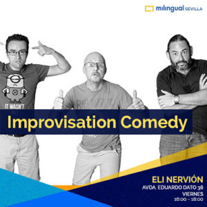 Spontaneous English Through Improvisation Comedy - Sevilla