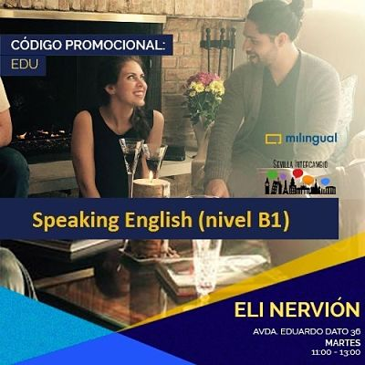 Taller Speaking English nivel B1 Martes 8 Mayo 2018