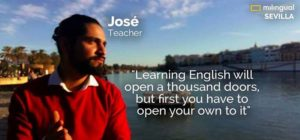 Teacher Jose Araoz - Learning English