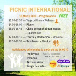 actividades pícnic internacional