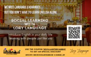 Aprendizaje Social por Internet con Sevilla Intercambio