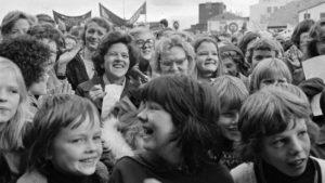 Huelga feminista en Islandia 1975