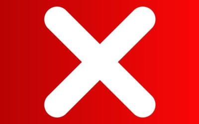 Cancelación de las actividades de Sevilla Intercambio