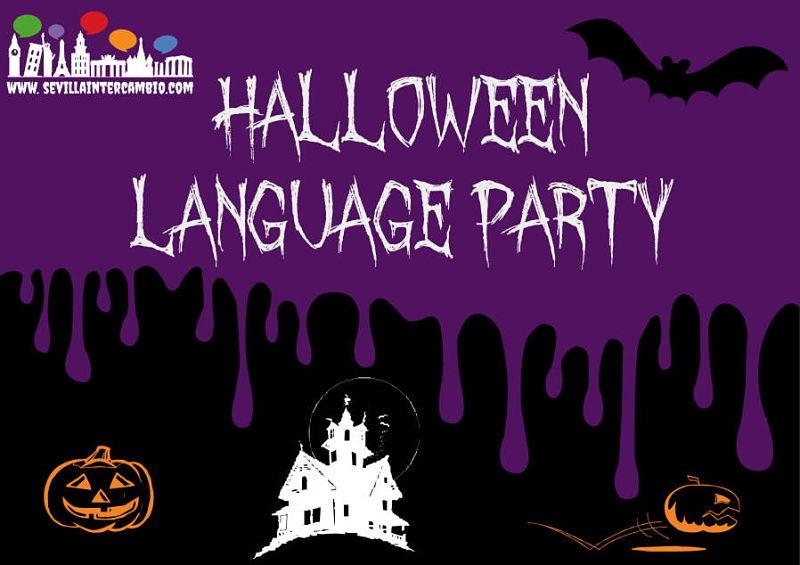 halloween language exchange party
