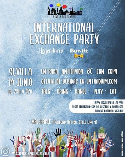 International Exchange Party 190614