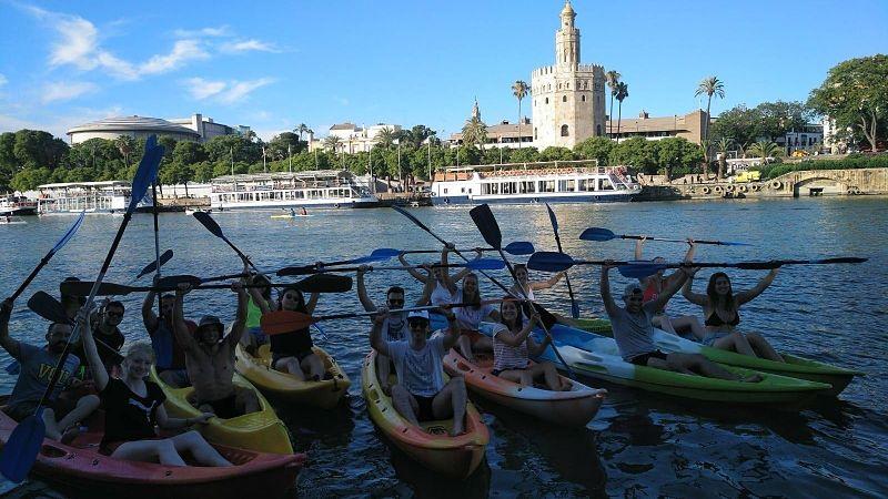 Disfruta Sevilla Haciendo Piragüismo 191129