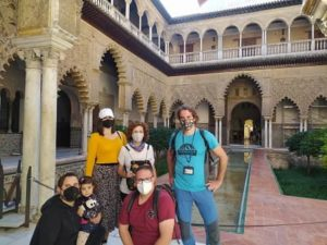Visita Guiada en el Real Alcázar de Sevilla: Patio de las Doncellas en el Palacio de Pedro I