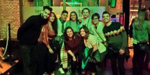 pub crawl bar seville drinks friends