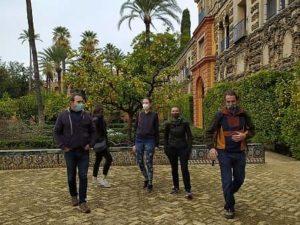 Visita Guiada en el Real Alcázar de Sevilla: Puerta del Privilegio