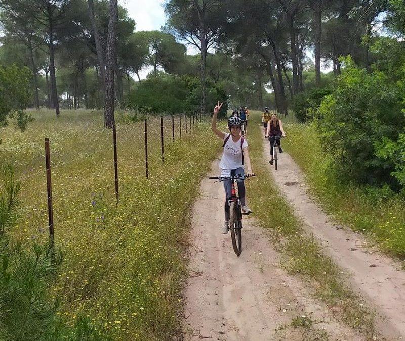 Aventura en bicicleta por la Vía verde de Coripe