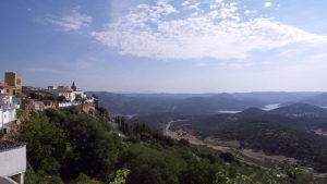 Senderismo en la dehesa de Aracena y Valdezufre