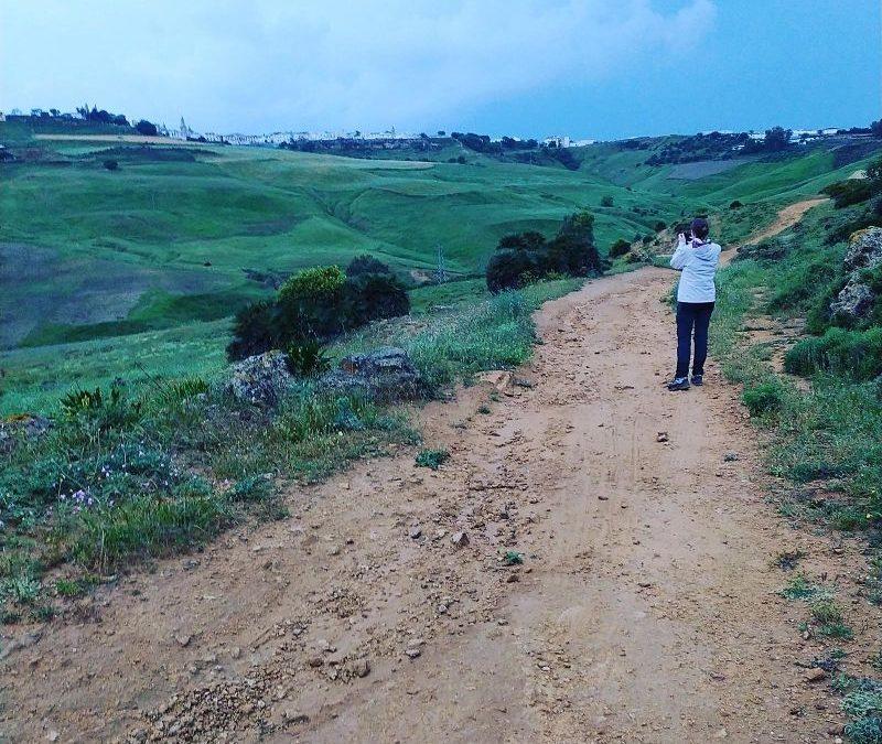Ruta guiada de senderismo vespertina por Carmona – Cueva de la Batida