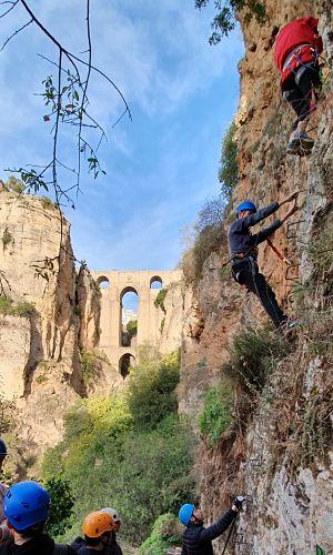 Via Ferrata en Ronda