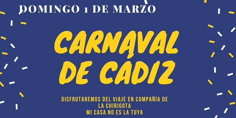 Viaje Carnavales de Cádiz 200301