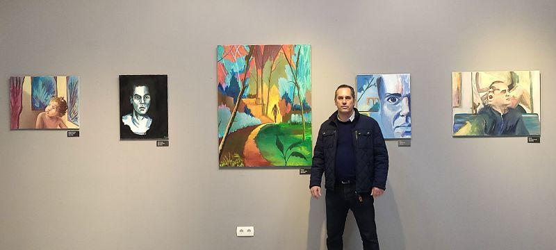 Visita exposición pintura en el Ateneo