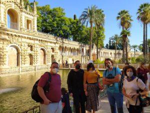 Visita Guiada en el Real Alcázar de Sevilla: Galería del Grutesco
